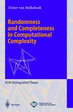 Randomness and Completeness in Computational Complexity
