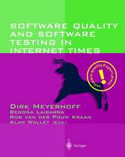 Software Quality and Software Testing in Internet Times