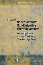Nonequilibrium Nondissipative Thermodynamics: With Application to Low-Pressure Diamond Synthesis