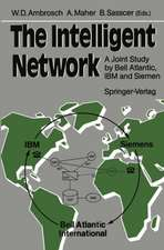 The Intelligent Network: A Joint Study by Bell Atlantic, IBM and Siemens