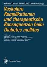 Vaskuläre Komplikationen und therapeutische Konsequenzen beim Diabetes mellitus