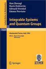 Integrable Systems and Quantum Groups: Lectures given at the 1st Session of the Centro Internazionale Matematico Estivo (C.I.M.E.) held in Montecatini Terme, Italy, June 14-22, 1993