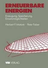 Erneuerbare Energien: Erzeugung, Speicherung, Einsatzmöglichkeiten