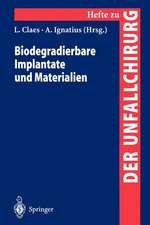 Biodegradierbare Implantate und Materialien