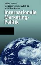 Internationale Marketing-Politik