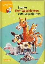 LESEMAUS zum Lesenlernen Sammelbände: Starke Tier-Geschichten zum Lesenlernen