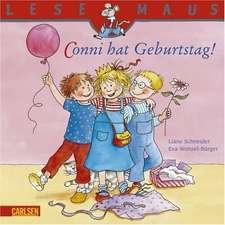 Conni hat Geburtstag!: LESEMAUS ab 3 Jahren/ De la 3 ani (3-6 ani)