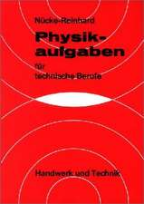 Physikaufgaben für technische Berufe