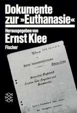 Dokumente zur » Euthanasie « im NS-Staat