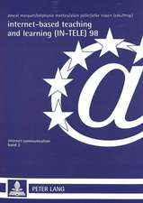 Internet-Based Teaching and Learning (In-Tele) 98:  Proceedings of In-Tele 98. Actes Du Colloque In-Tele 98. In-Tele 98 Konferenzbericht