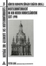 Deutschunterricht in Den Neuen Bundeslaendern Seit 1990