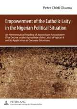 Empowerment of the Catholic Laity in the Nigerian Political Situation