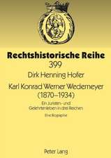 Karl Konrad Werner Wedemeyer (1870-1934)