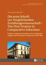Die Erste Schrift Zur Vergleichenden Erziehungswissenschaft/The First Treatise in Comparative Education:  de Re Scholasti