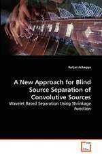 A New Approach for Blind Source Separation of Convolutive Sources