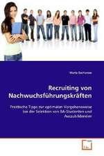 Recruiting von Nachwuchsführungskräften