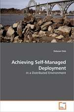 Achieving Self-Managed Deployment