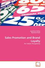 Sales Promotion and Brand Loyalty