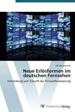 Neue Erlösformen im deutschen Fernsehen