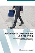 Performance Measurement und Reporting