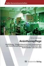 Anasthesiepflege