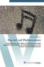 Pop Art auf Plattencovern