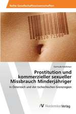 Prostitution und kommerzieller sexueller Missbrauch Minderjähriger