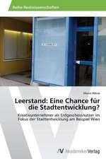 Leerstand: Eine Chance für die Stadtentwicklung?