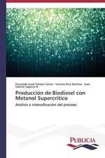 Produccion de Biodiesel Con Metanol Supercritico:  Un Enfoque Genetico