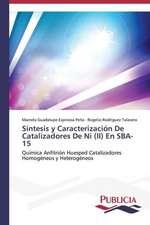 Sintesis y Caracterizacion de Catalizadores de Ni (II) En Sba-15:  Emilio Carrere y Edgar Neville