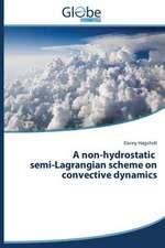 A Non-Hydrostatic Semi-Lagrangian Scheme on Convective Dynamics:  Georgia, Ucraina, Kirghizistan