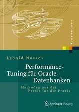 Performance Tuning für Oracle-Datenbanken: Methoden aus der Praxis für die Praxis