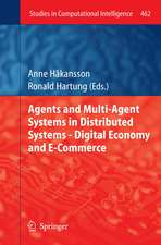 Agent and Multi-Agent Systems in Distributed Systems - Digital Economy and E-Commerce