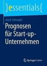 Prognosen für Start-up-Unternehmen