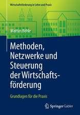 Methoden, Netzwerke und Steuerung der Wirtschaftsförderung: Grundlagen für die Praxis