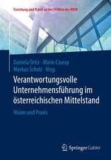 Verantwortungsvolle Unternehmensführung im österreichischen Mittelstand