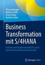 Business Transformation mit S/4HANA