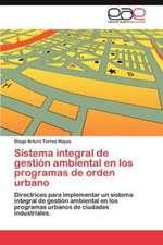Sistema Integral de Gestion Ambiental En Los Programas de Orden Urbano:  1920-1951