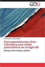 Correspondencias Arte-Literatura