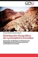 Distribucion Geografica de Lychnophora Ericoides:  Planificacion y Organizacion