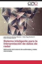 Sistema inteligente para la interpretación de datos de radar