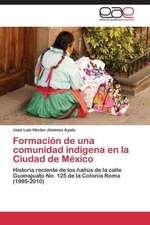 Formación de una comunidad indígena en la Ciudad de México