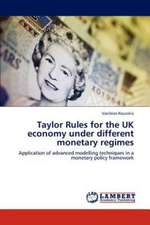 Taylor Rules for the UK economy under different monetary regimes