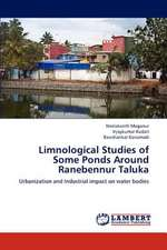 Limnological Studies of Some Ponds Around Ranebennur Taluka