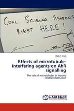 Effects of microtubule-interfering agents on AhR signalling