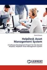 HelpDesk Asset Management System
