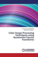 Color Image Processing Techniques using Quaternion Fourier Transforms