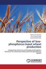 Perspective of low-phosphorus-input wheat production