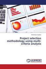 Project selection methodology using multi-criteria analysis
