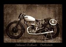 Motorrad Oldtimer Posterbuch (Posterbuch DIN A4 quer)